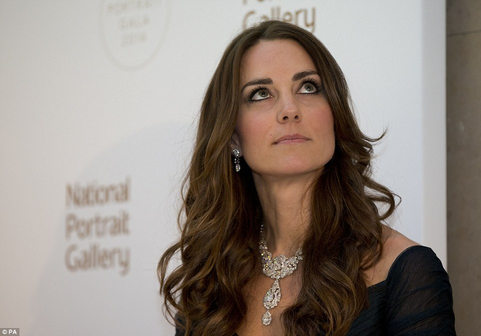 Kate Middleton NPG Jewels