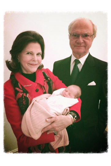 Princess Leonore Queen Silvia King Carl Gustaf