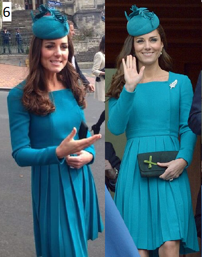 Emilia Wickstead teal dress