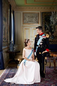 Crown Prince Frederik & Crown Princess Mary full dress