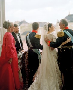 Crown Prince Frederik & Crown Princess Mary wedding balcony