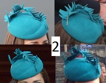 Jane Taylor Teal Hat
