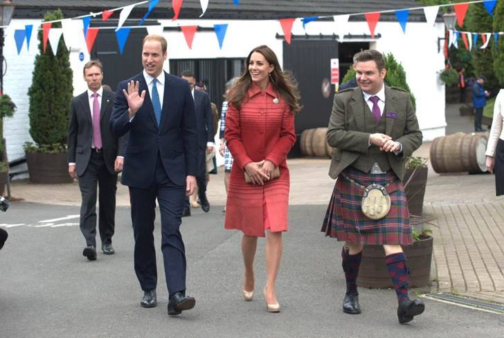 Will and Kate visit Scotland