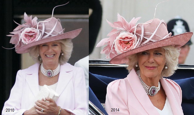 Camilla, Duchess of Cornwall Hat Repeat