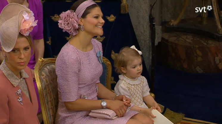 Crown Princess Victoria and Princess Estelle