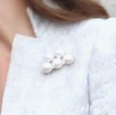 Kate Middleton Five Pearl Brooch