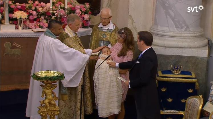 Princess Leonore baptism