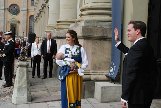 Princess Madeleine and Princess Lenore open Palace