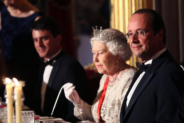 Queen at State Dinner