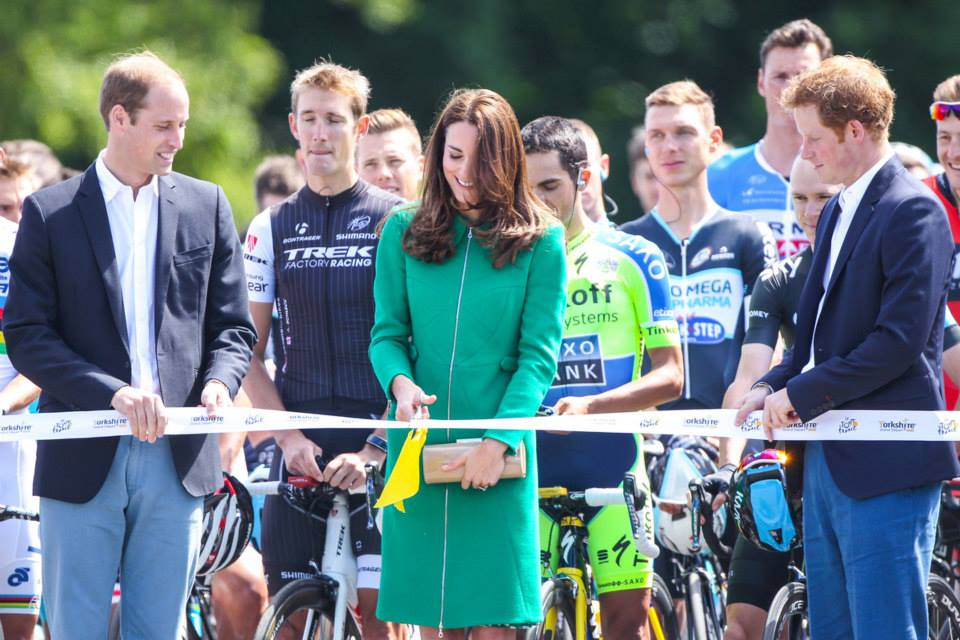 Kate cutting ribbon
