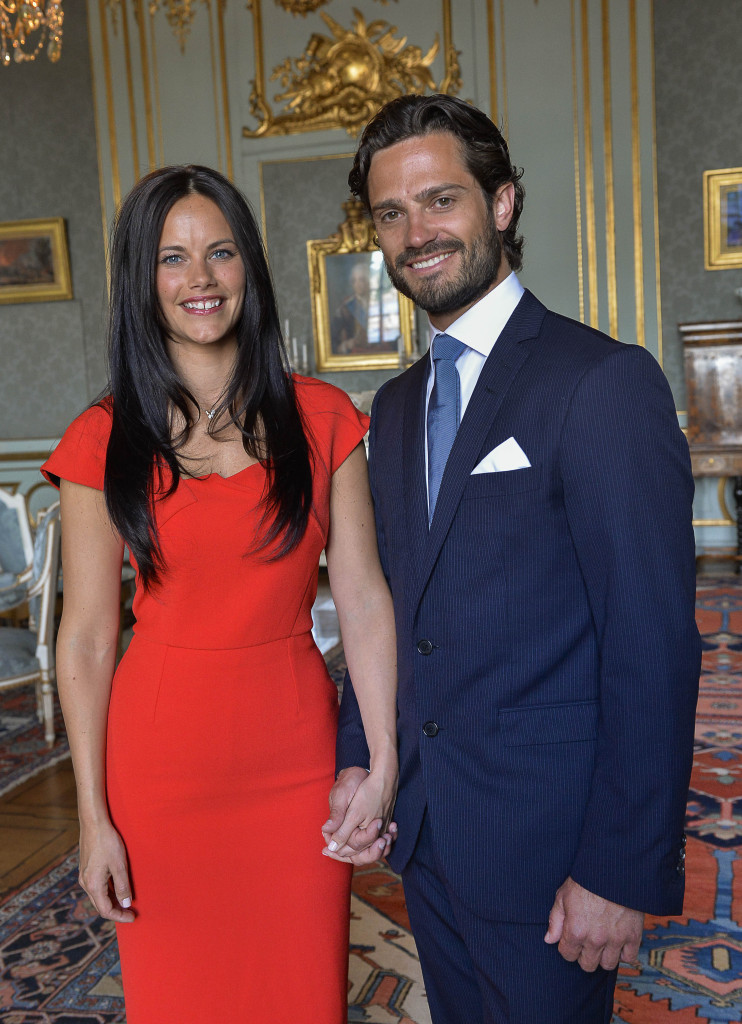 Prince Carl Philip and Sofia Hellqvist engagement photo