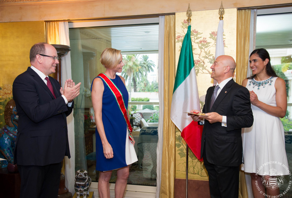Princess Charlene Italian honor