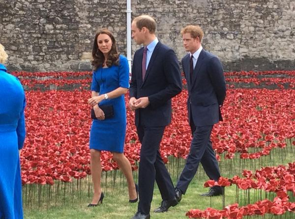 Will, Kate and Harry Tower of London