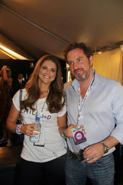 Princess Madeleine and Chris O'Neill attend Global Citizen Festival