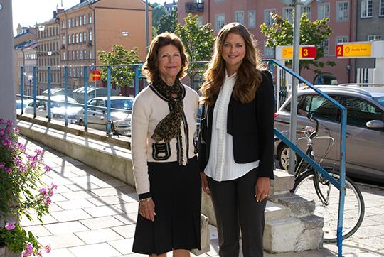Princess Madeleine and Queen Silvia Ersta Child Rights Bureau
