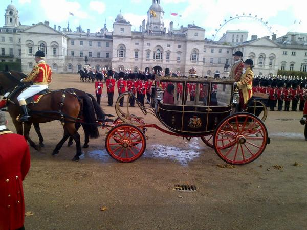 State Visit carriage
