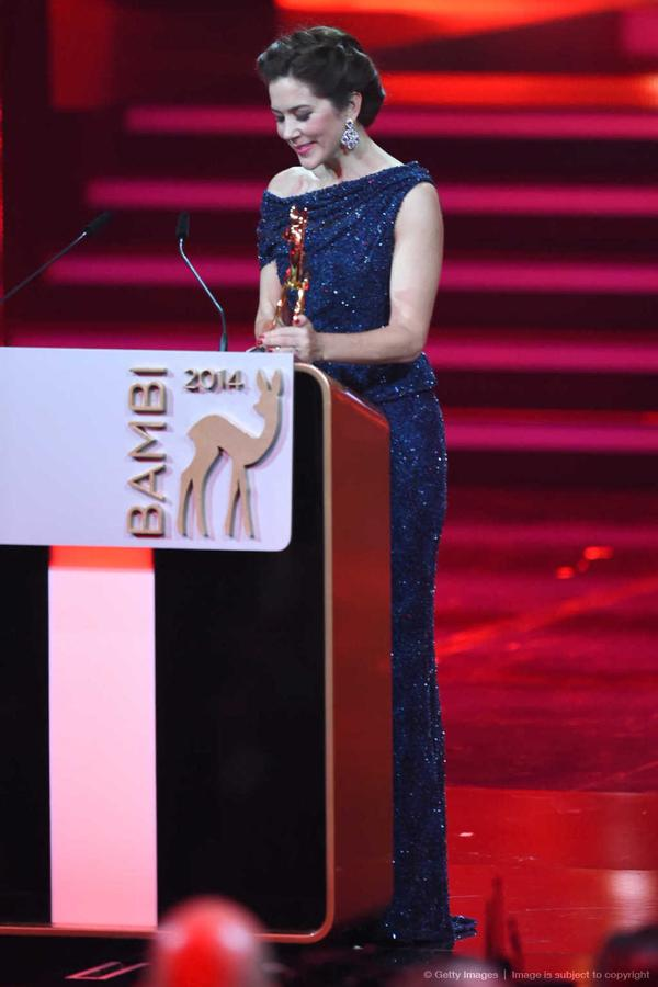 Crown Princess Mary Bambi Awards full