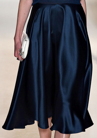 Jenny Packham ready to wear skirt in peacock