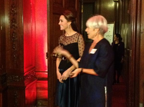Kate Middleton arrives at Place2Be awards