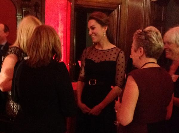 Kate Middleton chats to guests at Place2Be awards