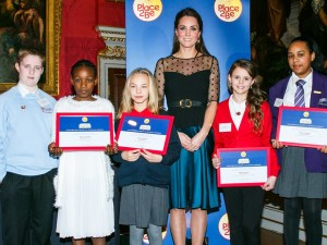 Kate Middleton winner and finalists Place2Be Wellbeing awards