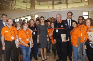 Letizia at National Conference on Volunteering