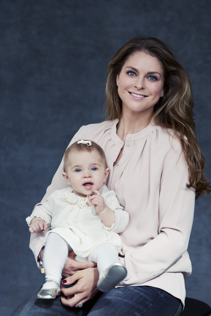 Princess Madeleine and Princess Leonore official 11.27.14