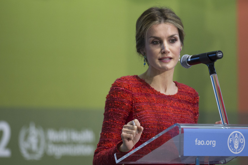 Queen Letizia at INC2 12