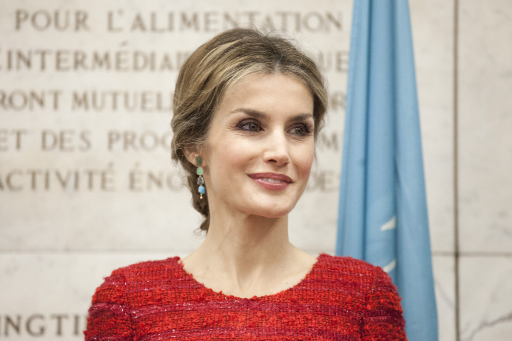 Queen Letizia at INC2 7