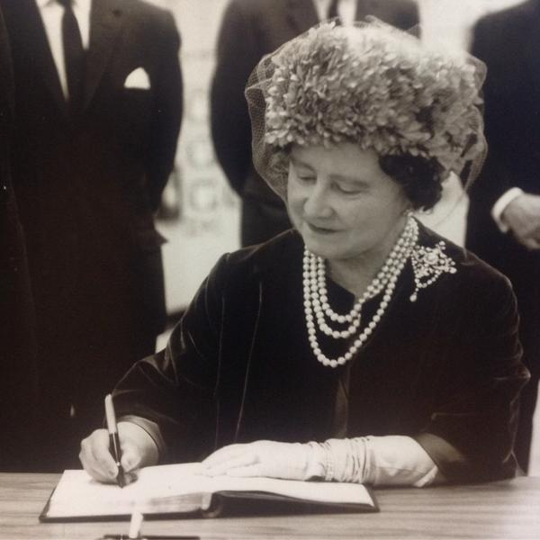 Queen Mother Pembroke Oil Refinery