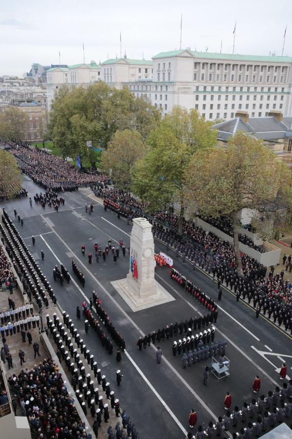 Remembrance Sunday Cenotaph