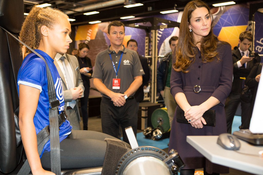 SportsAid Kate at workshop 1