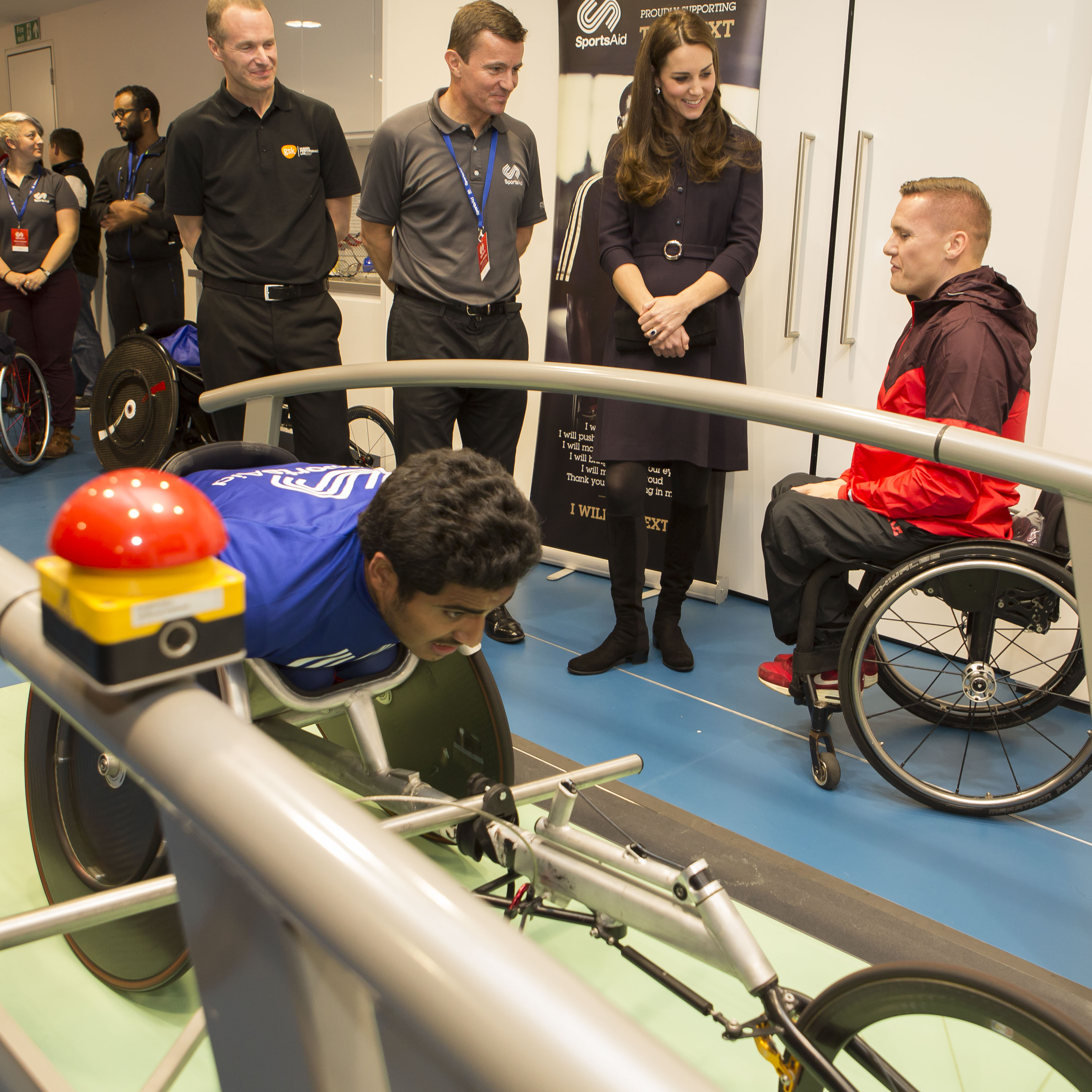 Duchess Kate At Sportsaid Athlete Workshop Kate