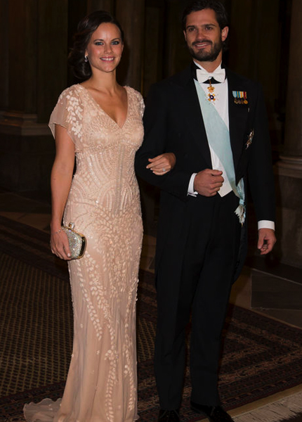 Carl Philip and Sofia Nobel Laureates Dinner