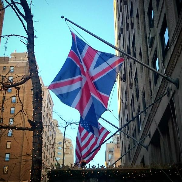 Carlyle Hotel flags