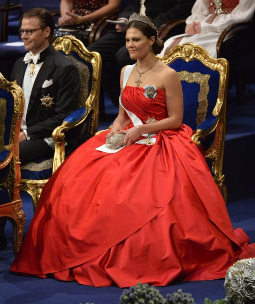 Crown Princess Victoria Nobel Prize Ceremony 2