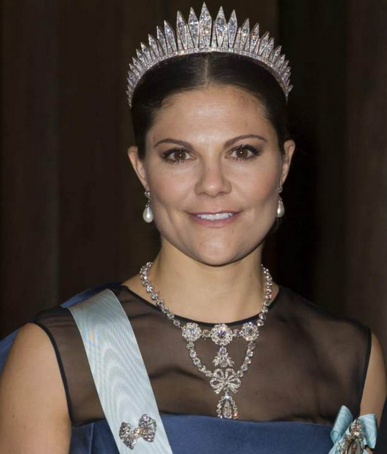 Crown Princess Victoria jewelry