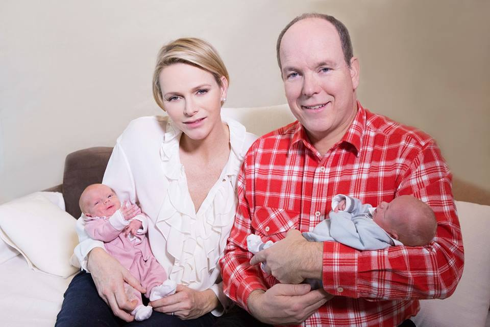 First Baby Photos Prince Jacques and Princess Gabriella 3
