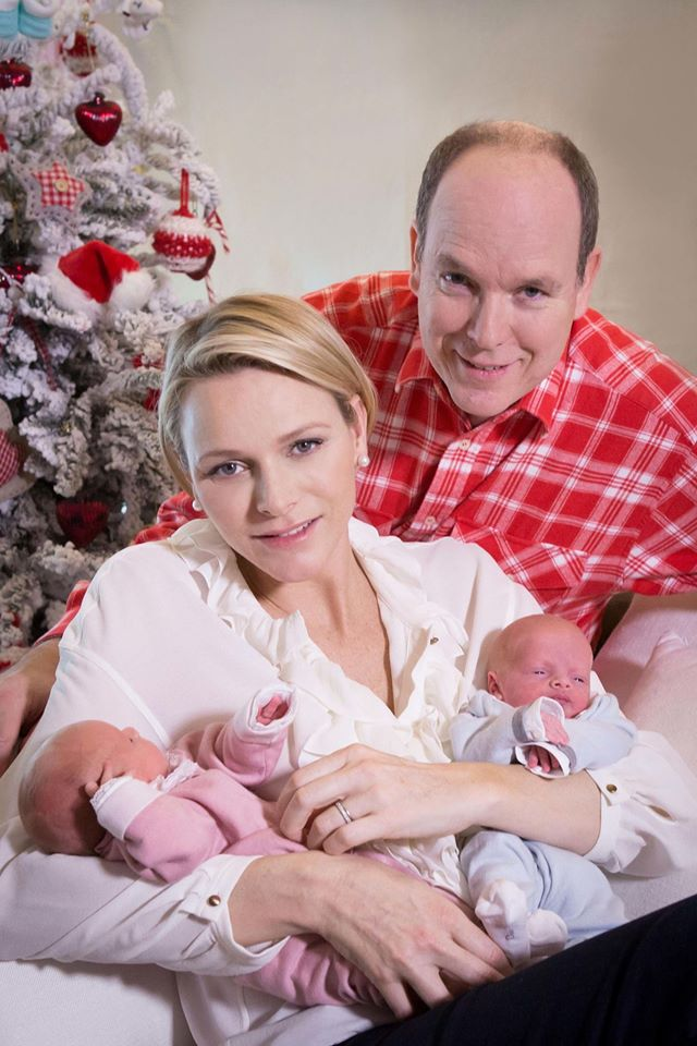 First Baby Photos Prince Jacques and Princess Gabriella 7