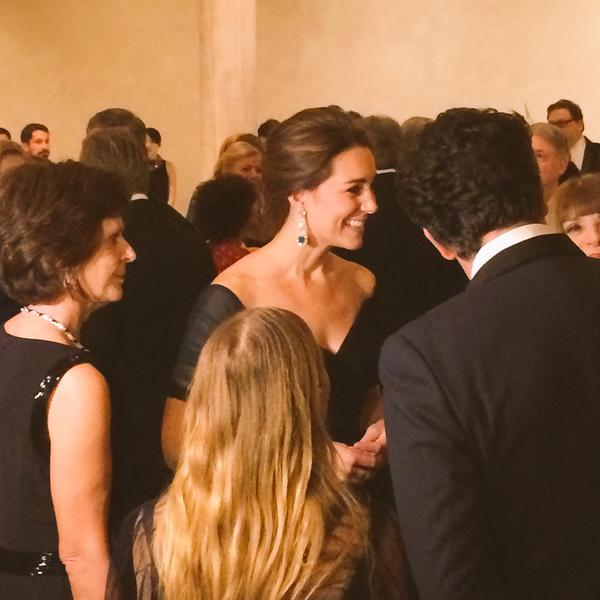 Kate at St. Andrews Gala