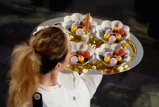 Nobel Prize Banquet dessert