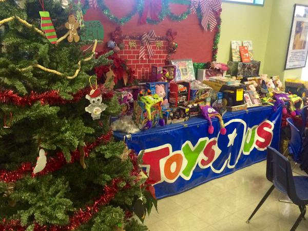 Presents at Northside Center by Toys R Us