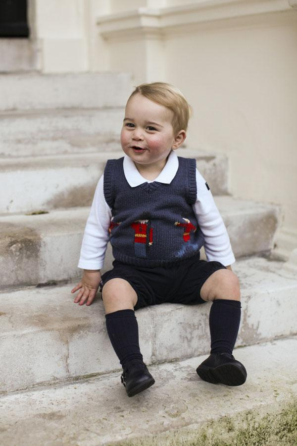 Prince George Christmas Photo 1