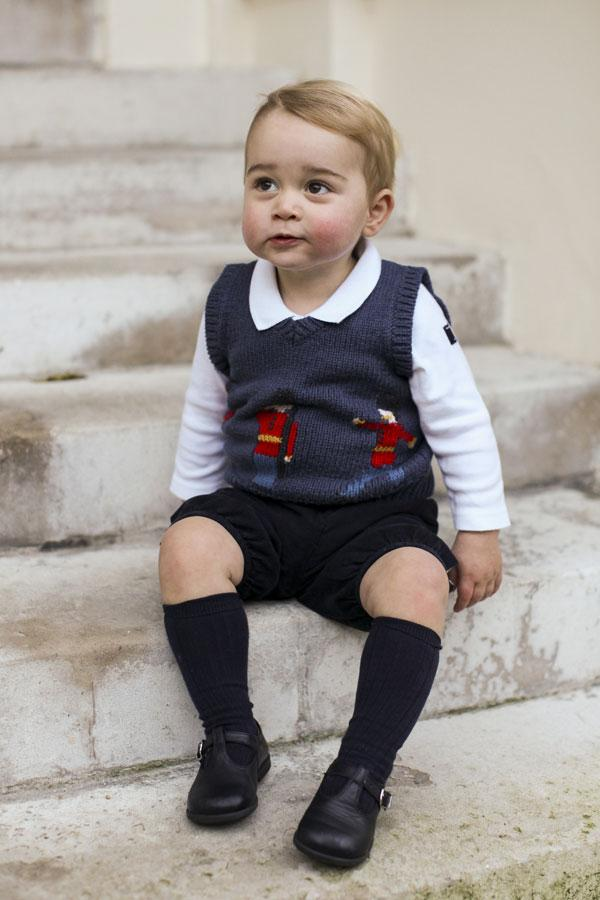 Prince George Christmas Photo 2