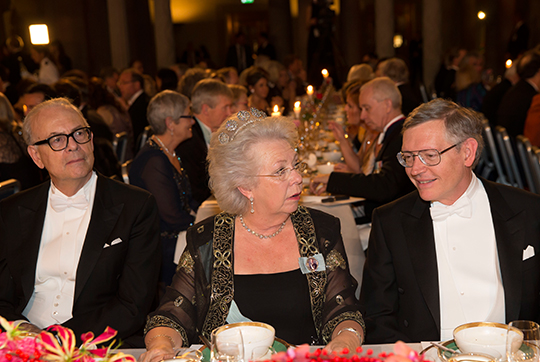 Princess Christina Nobel Prize Banquet