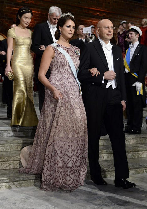 Princess Madeleine Nobel Prize Banquet 3