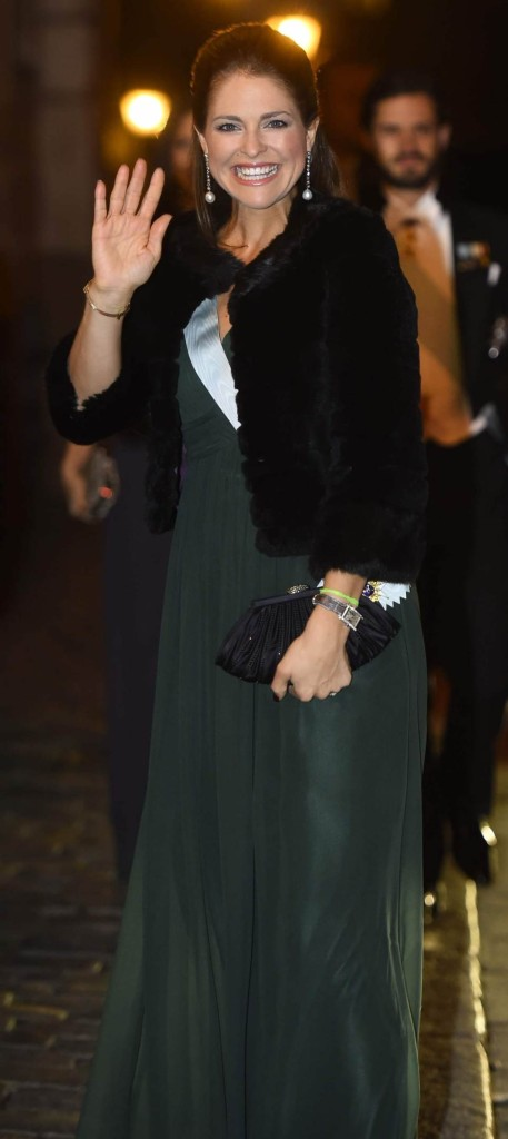 Princess Madeleine at Swedish Academy formal gathering 2