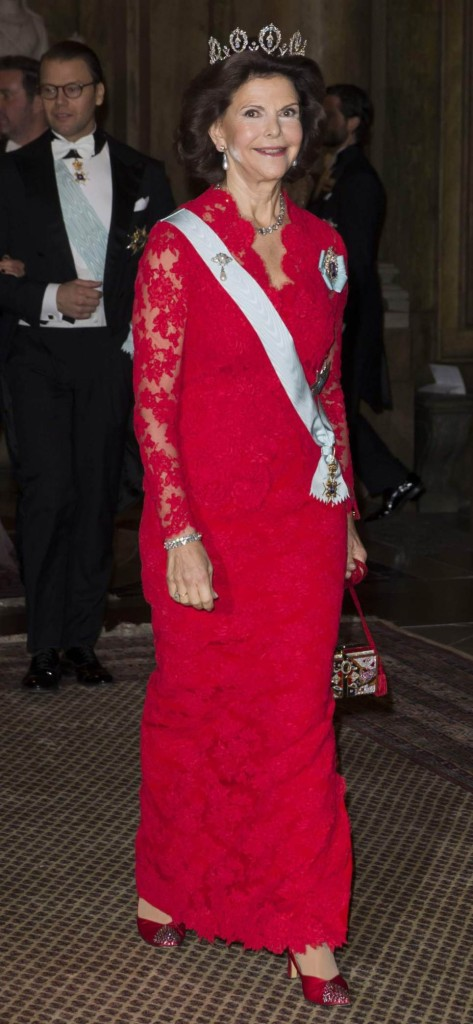 Queen Silvia Nobel Laureates Dinner