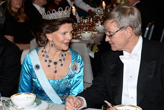Queen Silvia Nobel Prize Banquet