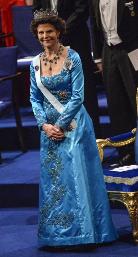 Queen Silvia Nobel Prize Ceremony 1